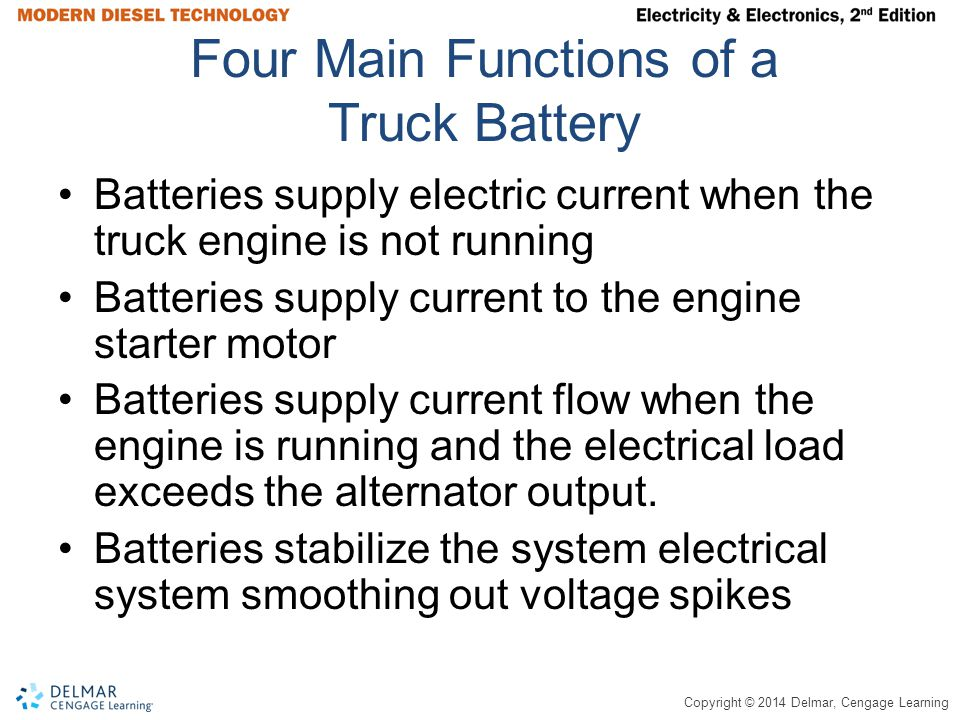 Four Main Functions of a Truck Battery