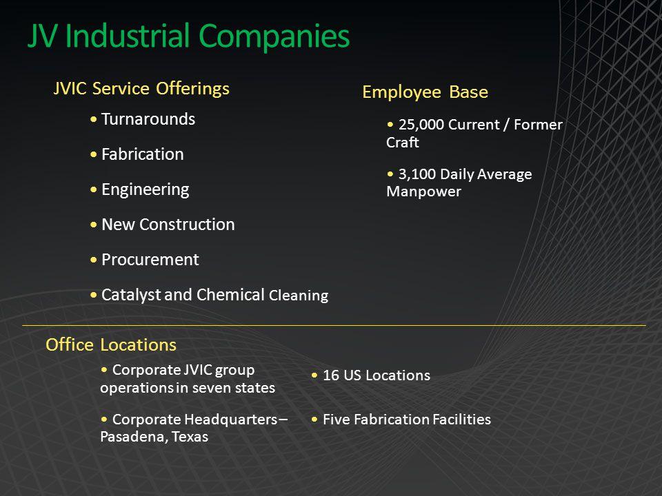 JV Industrial Companies
