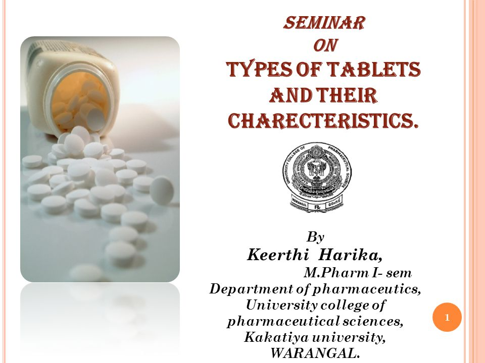 TYPES OF TABLETS AND THEIR CHARECTERISTICS.