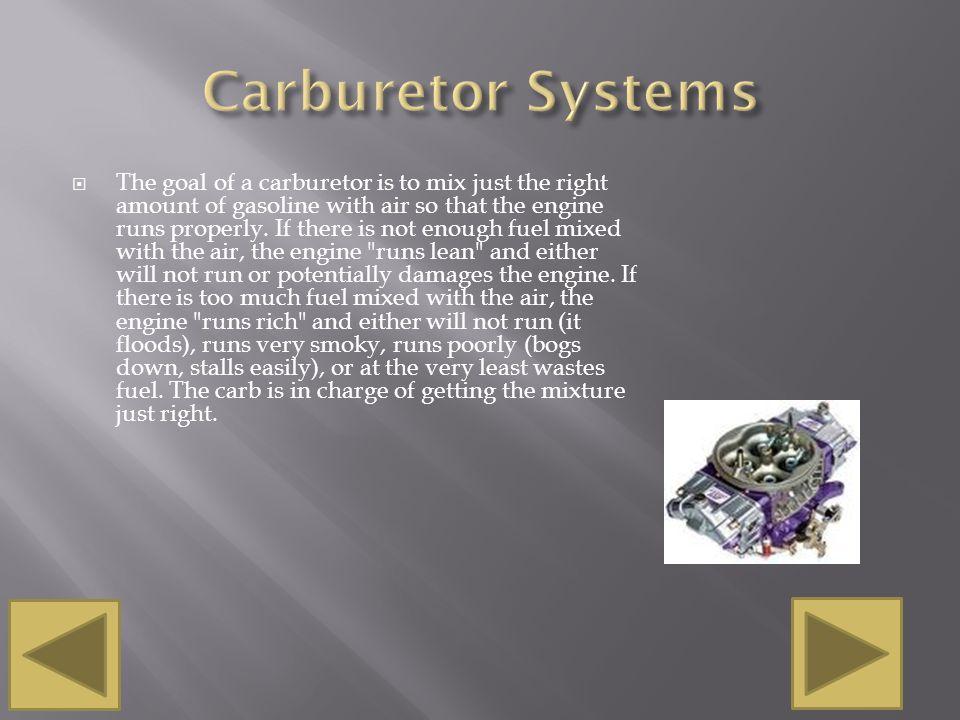 Carburetor Systems