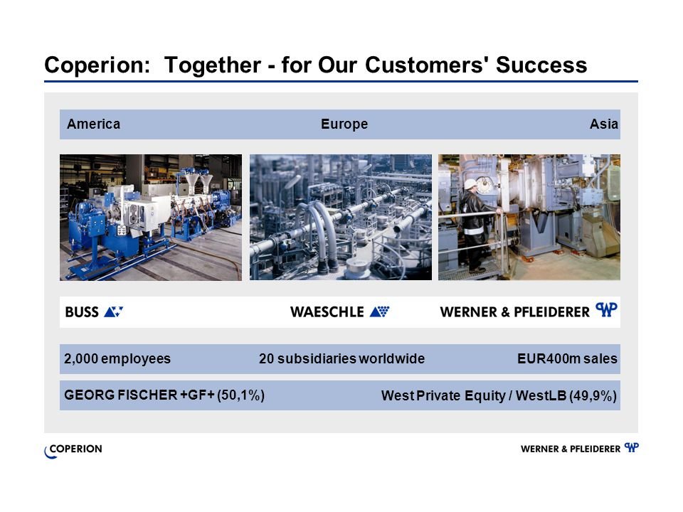 Coperion: Together - for Our Customers Success