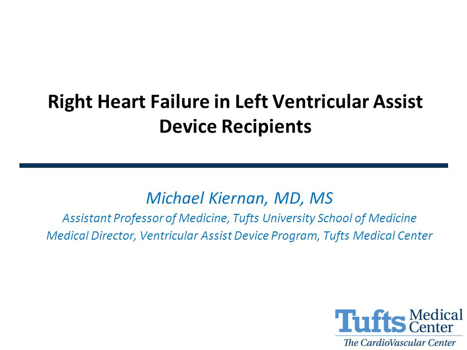 Right Heart Failure in Left Ventricular Assist Device Recipients