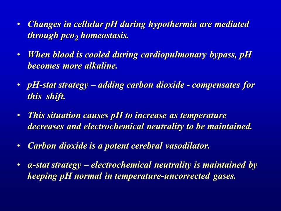 pH-stat strategy – adding carbon dioxide - compensates for this shift.