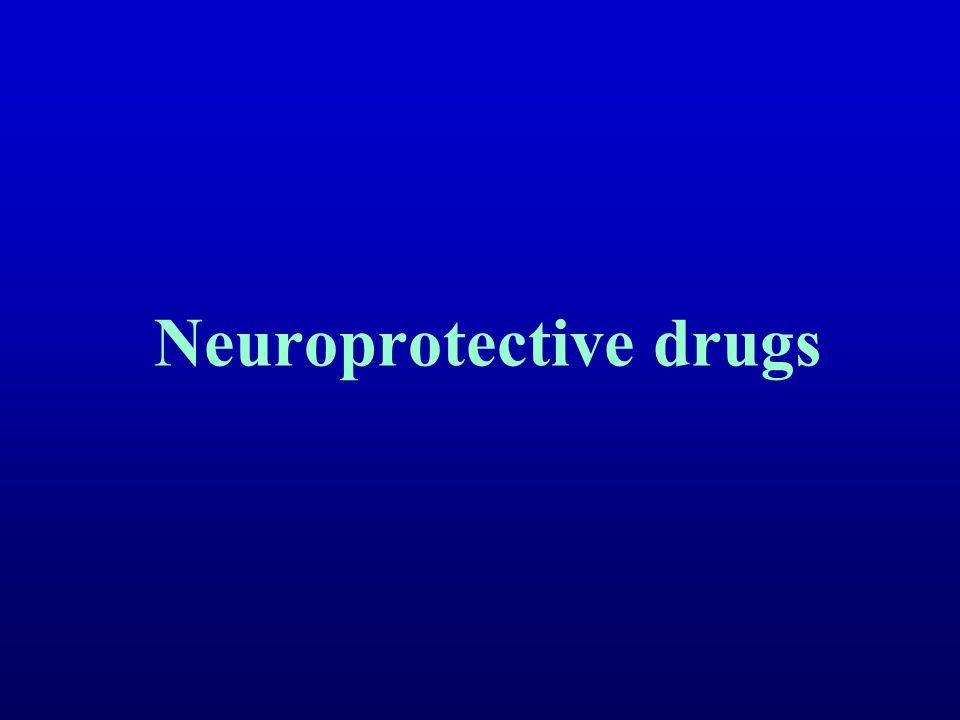 Neuroprotective drugs