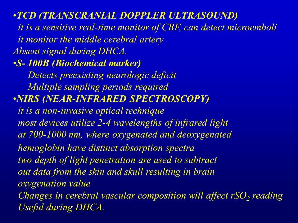 TCD (TRANSCRANIAL DOPPLER ULTRASOUND)