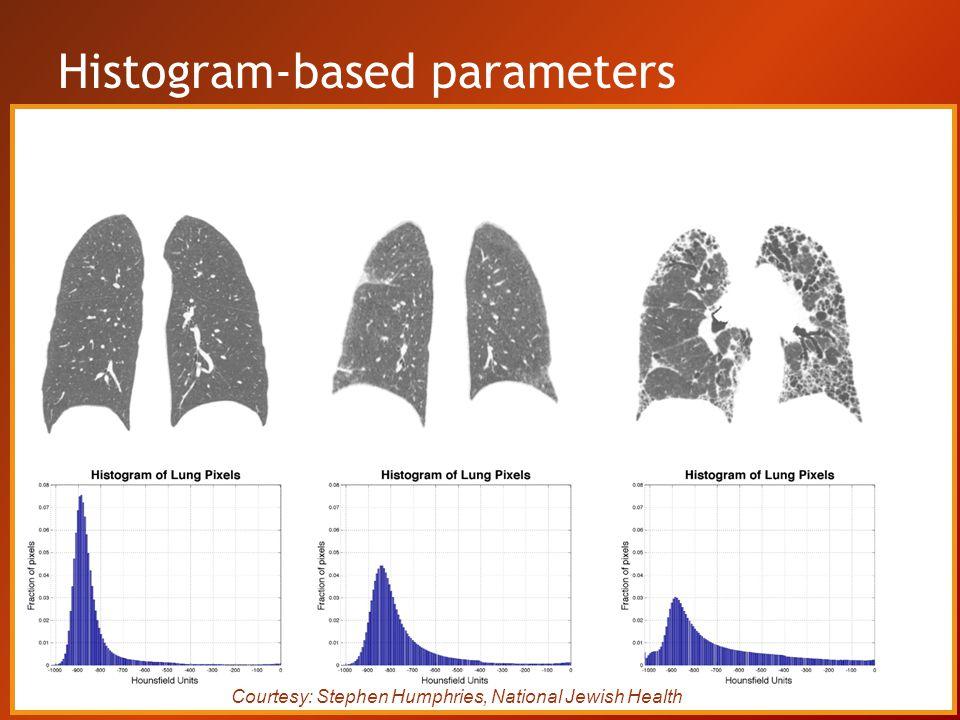 Histogram-based parameters