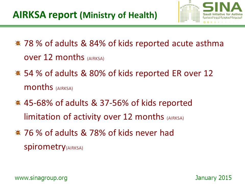 AIRKSA report (Ministry of Health)