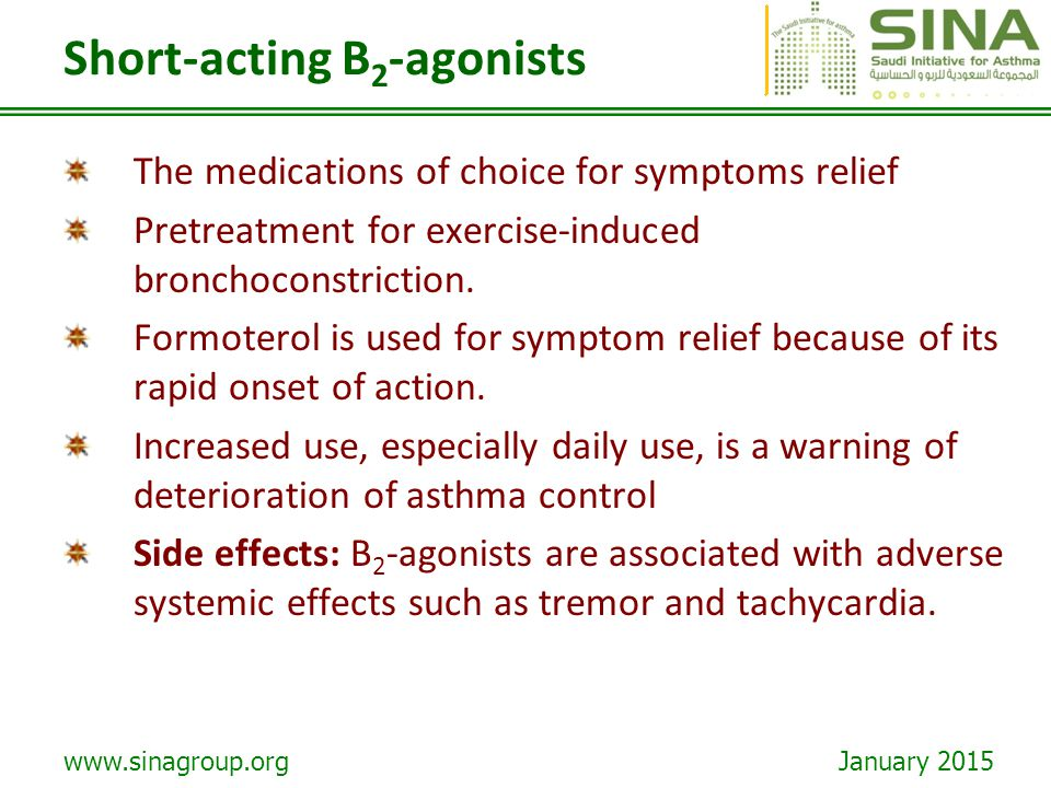 Short-acting B2-agonists