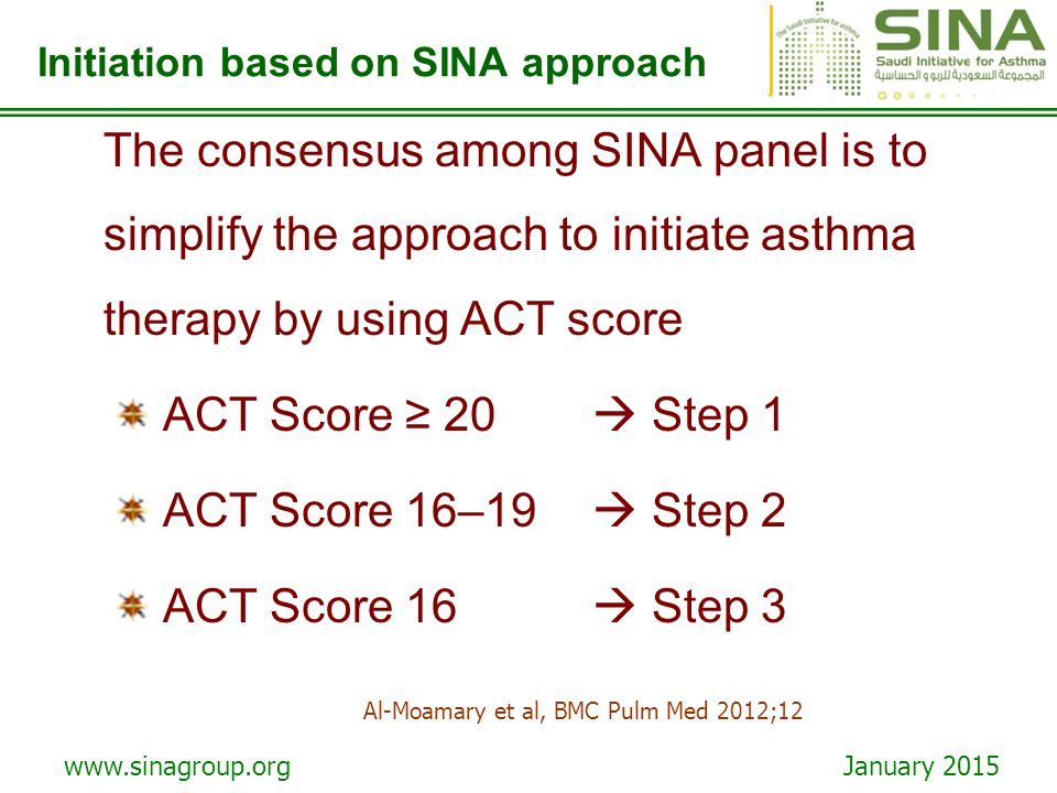 Initiation based on SINA approach