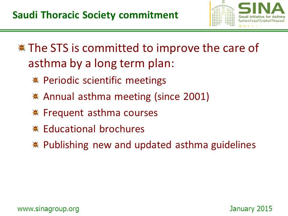 Saudi Thoracic Society commitment