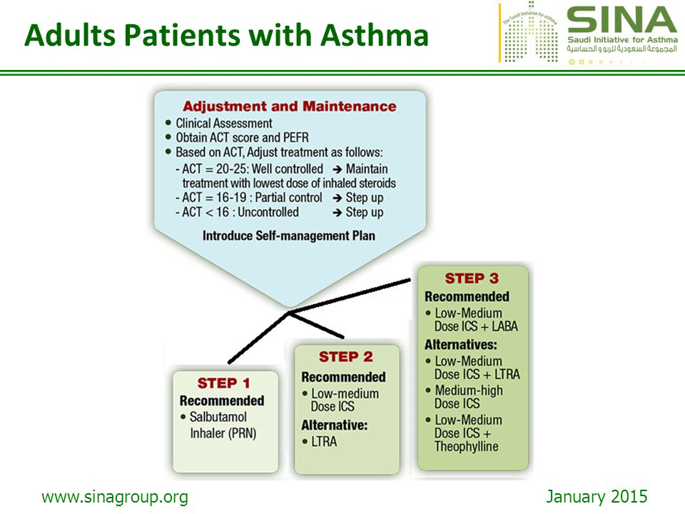 Adults Patients with Asthma