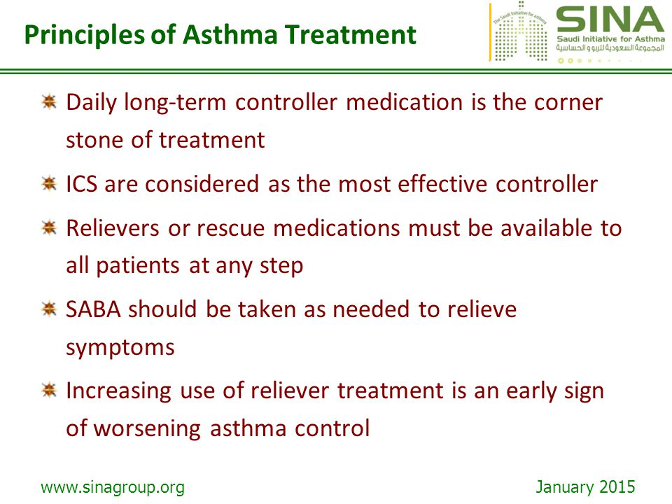 Principles of Asthma Treatment