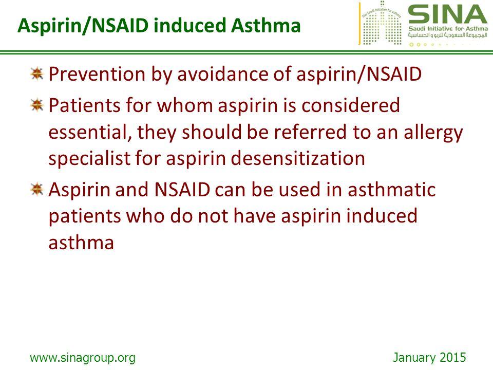 Nsaid and aspirin