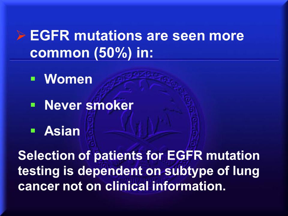 EGFR mutations are seen more common (50%) in: