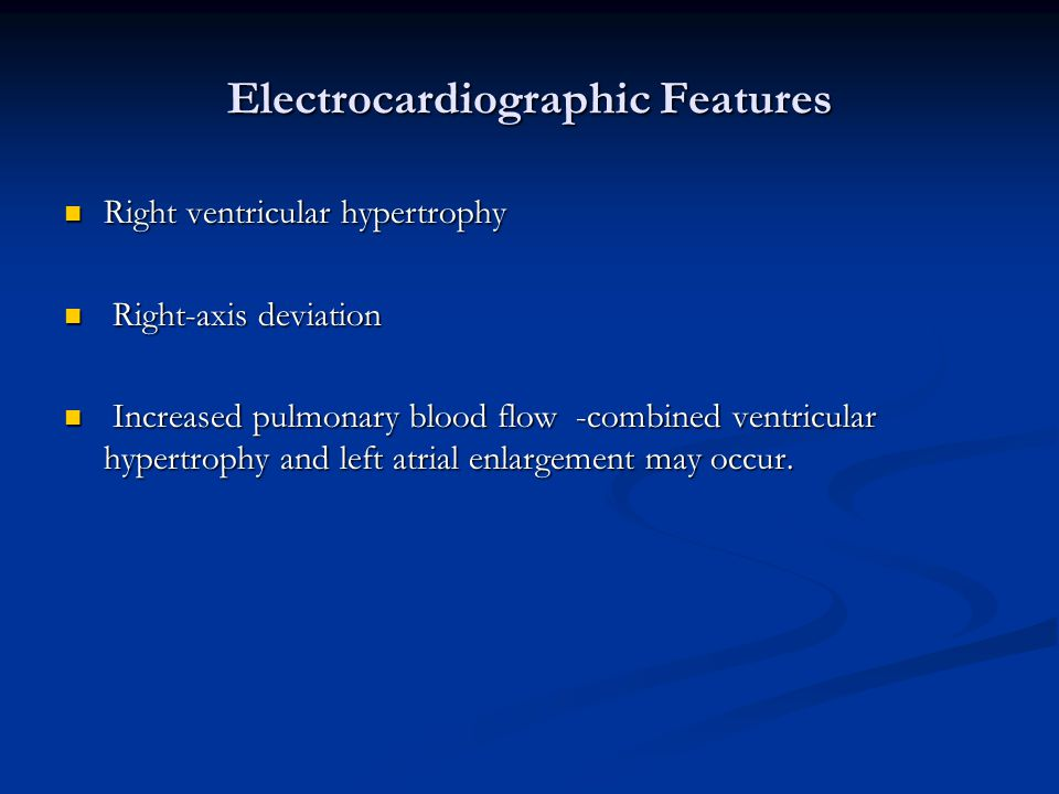 Electrocardiographic Features