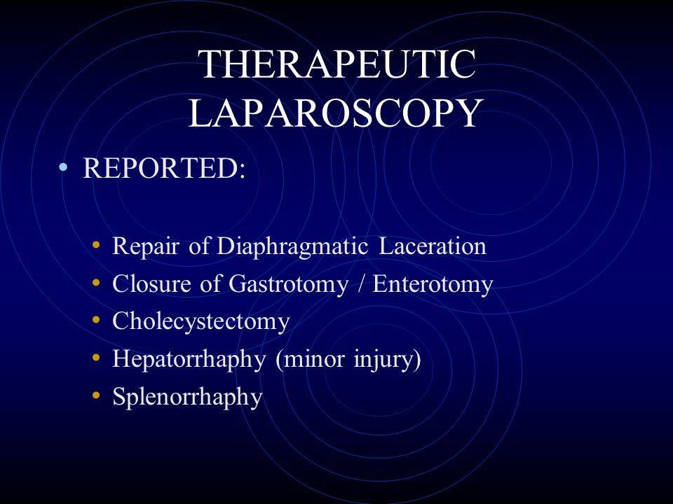 THERAPEUTIC LAPAROSCOPY