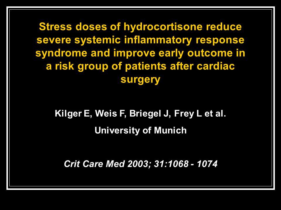 Kilger E, Weis F, Briegel J, Frey L et al.