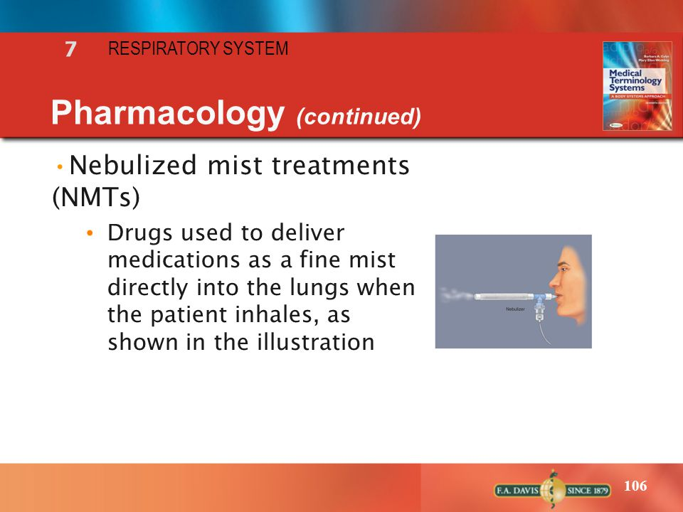 Pharmacology (continued)