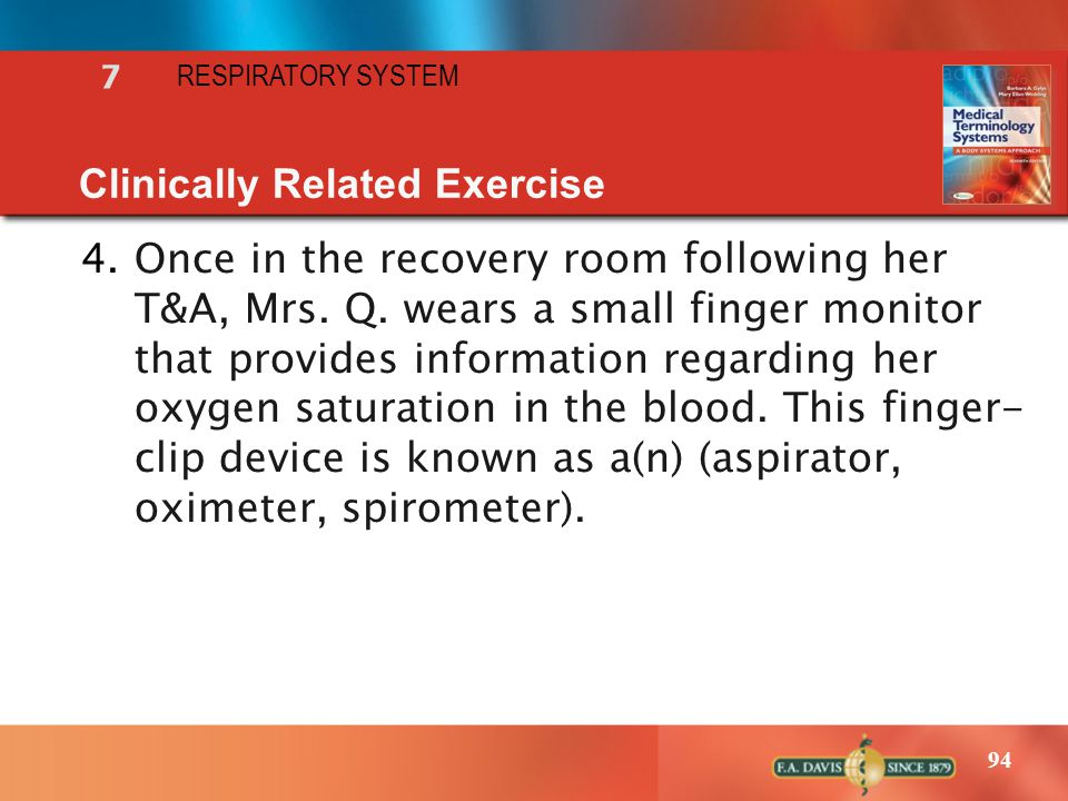 Clinically Related Exercise