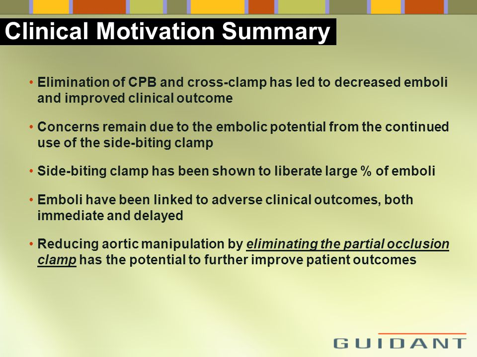 Clinical Motivation Summary