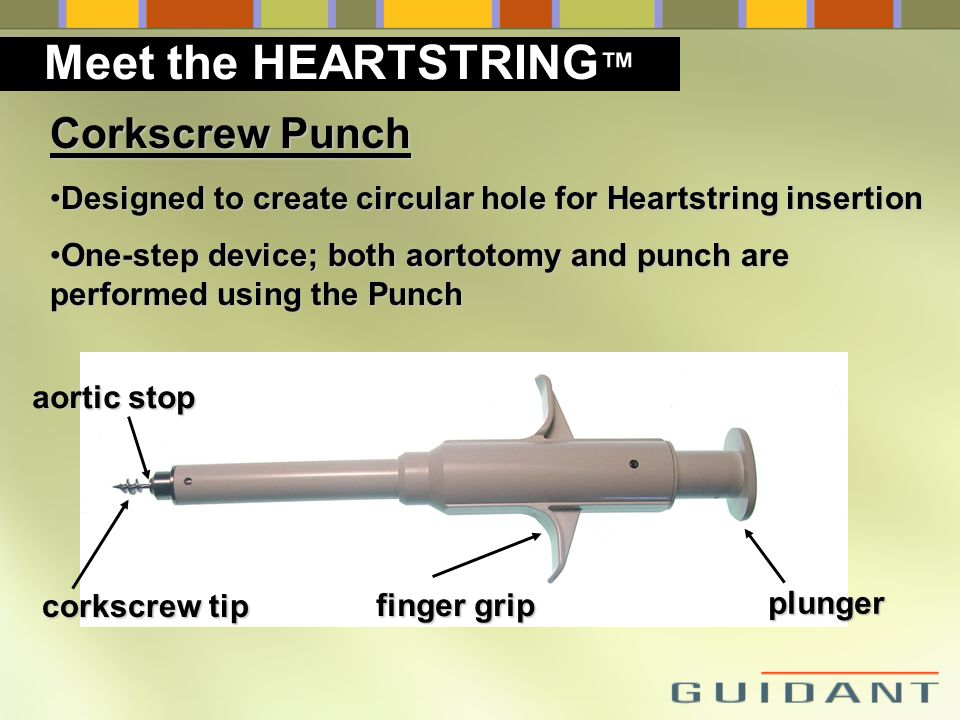 Meet the HEARTSTRING™ Corkscrew Punch