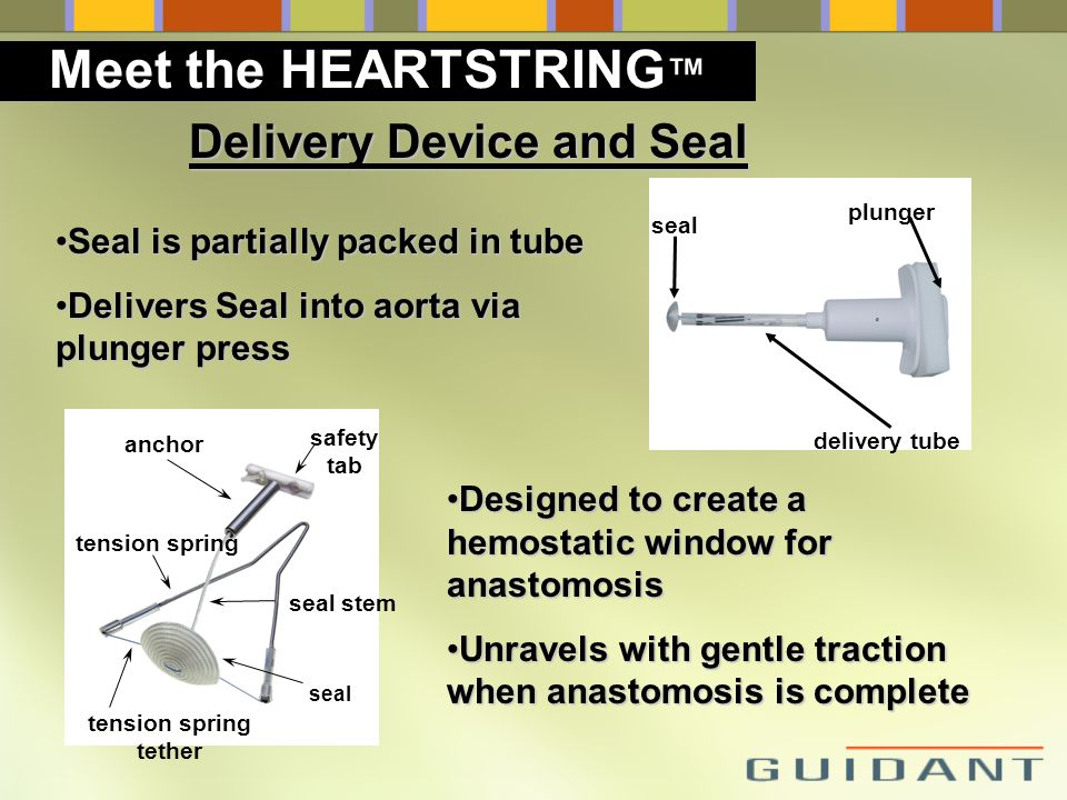 Meet the HEARTSTRING™ Delivery Device and Seal