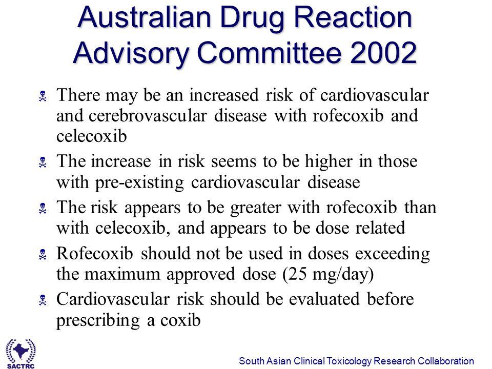 Australian Drug Reaction Advisory Committee 2002