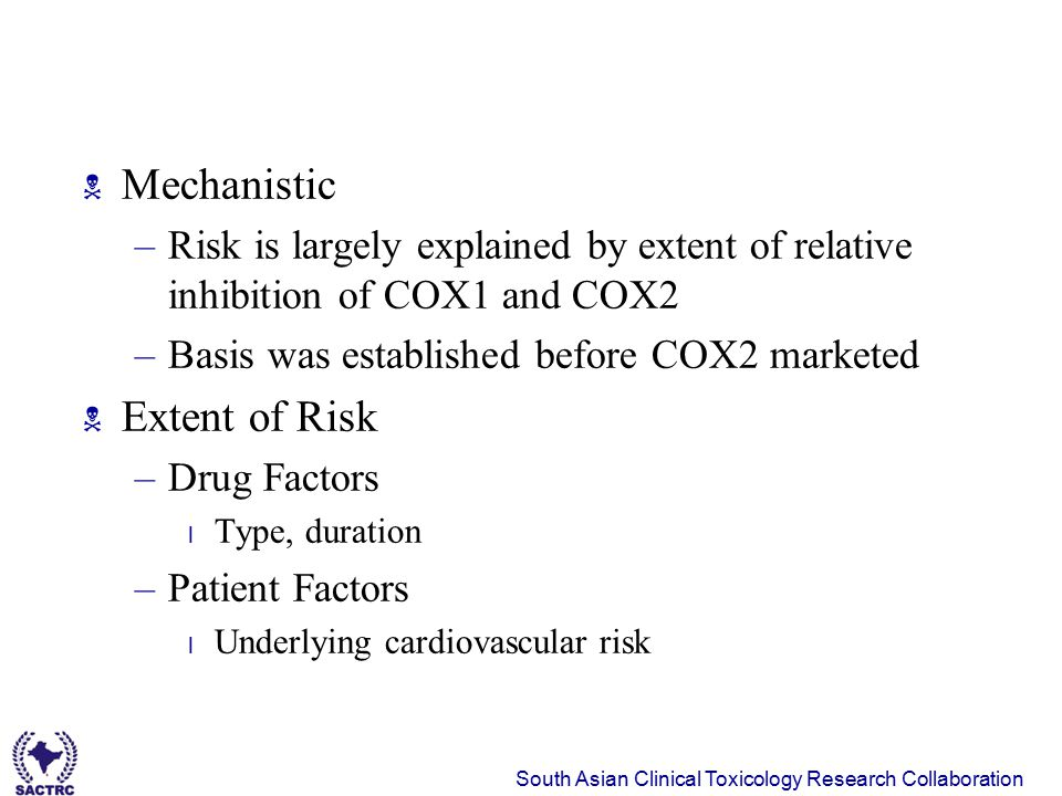 Mechanistic Extent of Risk