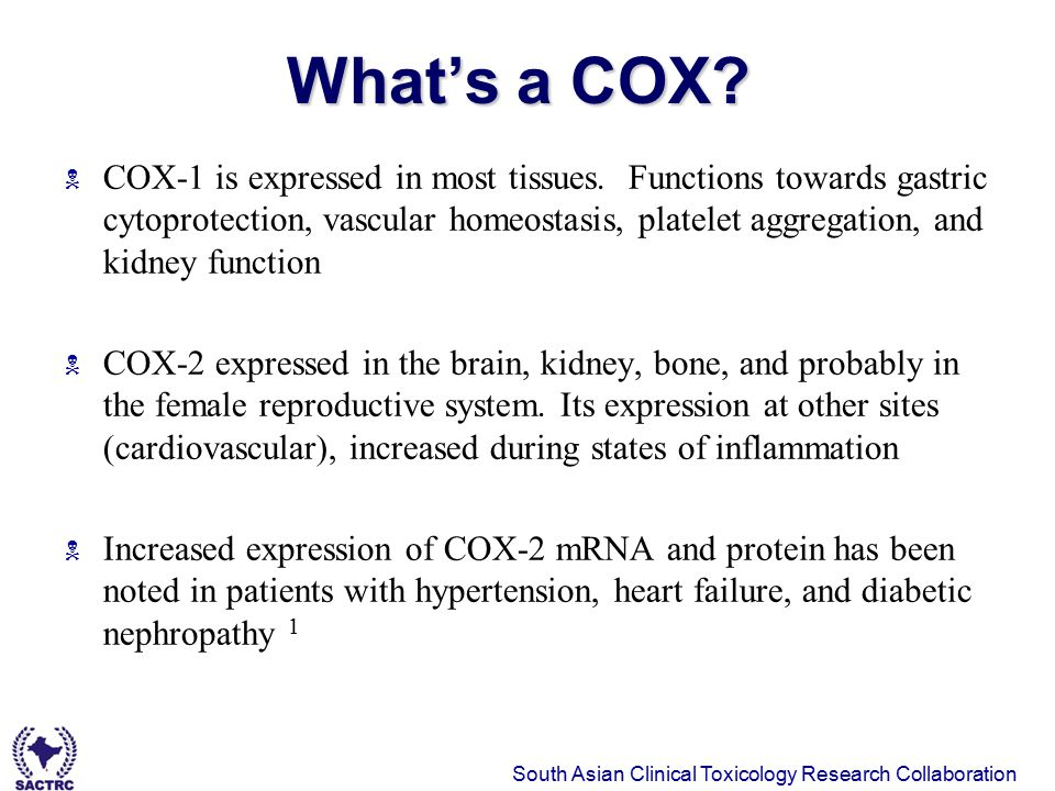 What's a COX