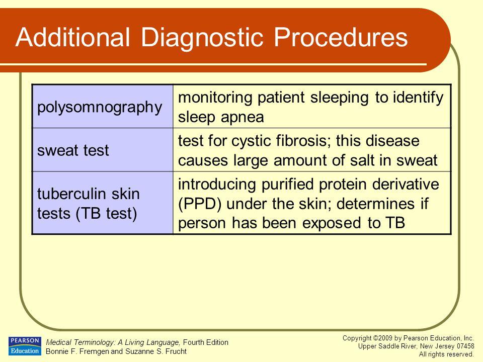 Additional Diagnostic Procedures