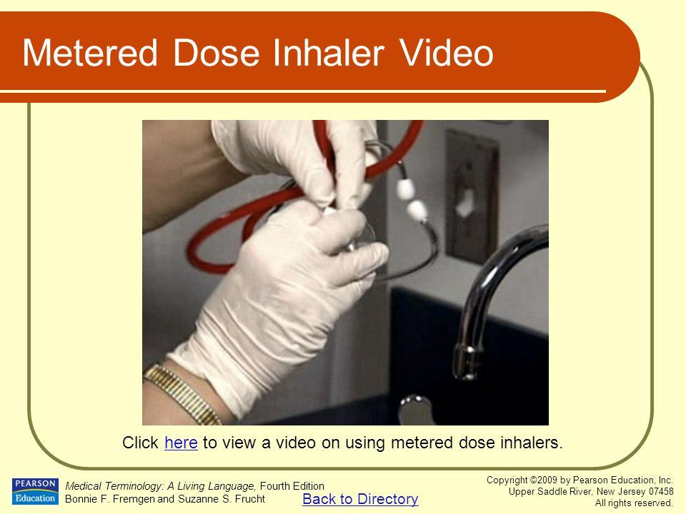 Metered Dose Inhaler Video