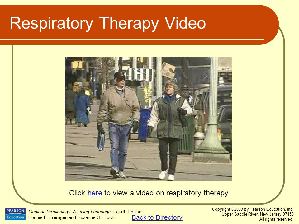 Respiratory Therapy Video