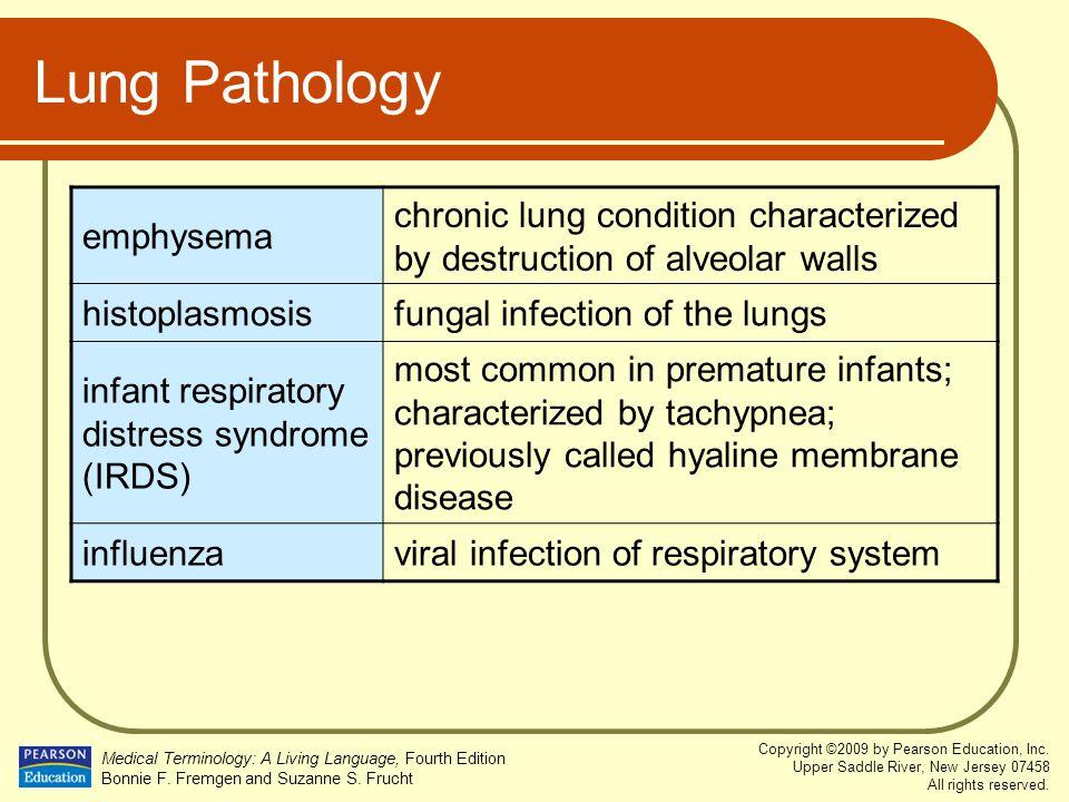 Lung Pathology emphysema