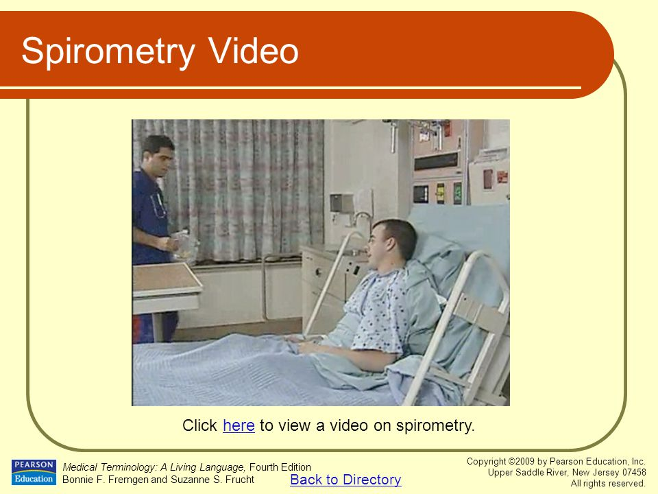 Click here to view a video on spirometry.