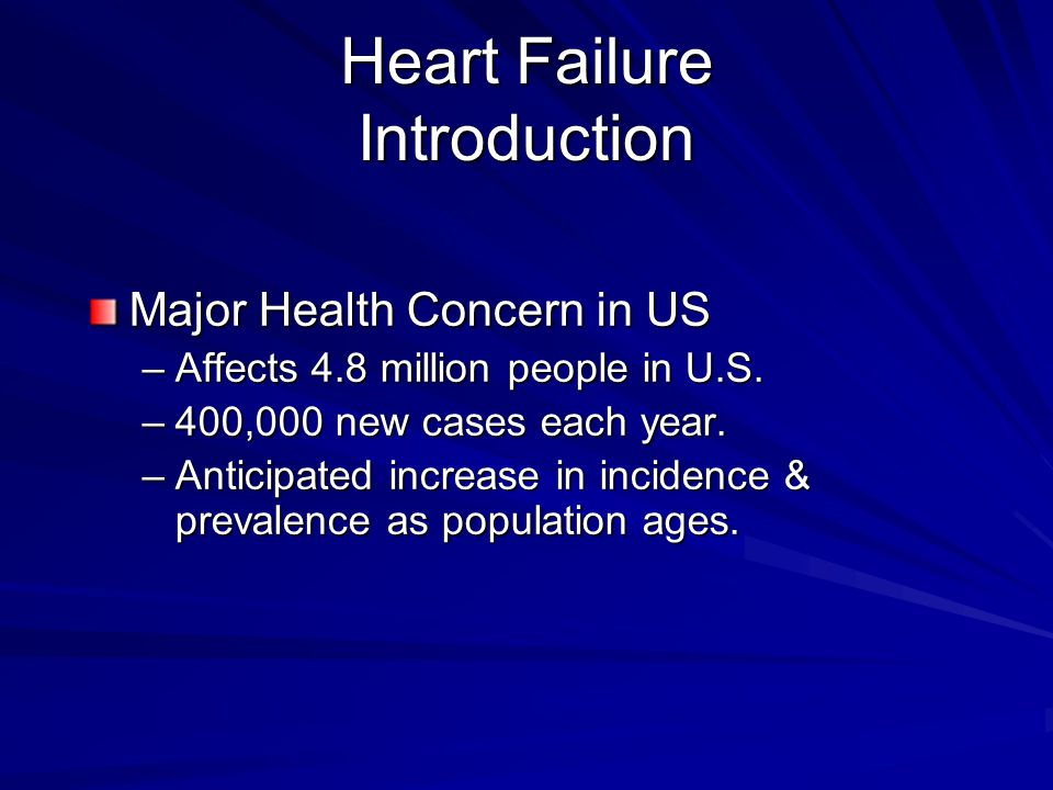 Heart Failure Introduction