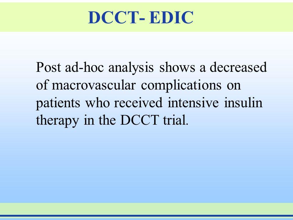 DCCT- EDIC