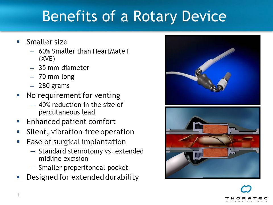 Benefits of a Rotary Device