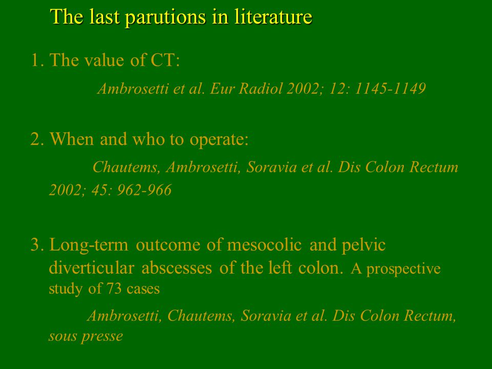 The last parutions in literature