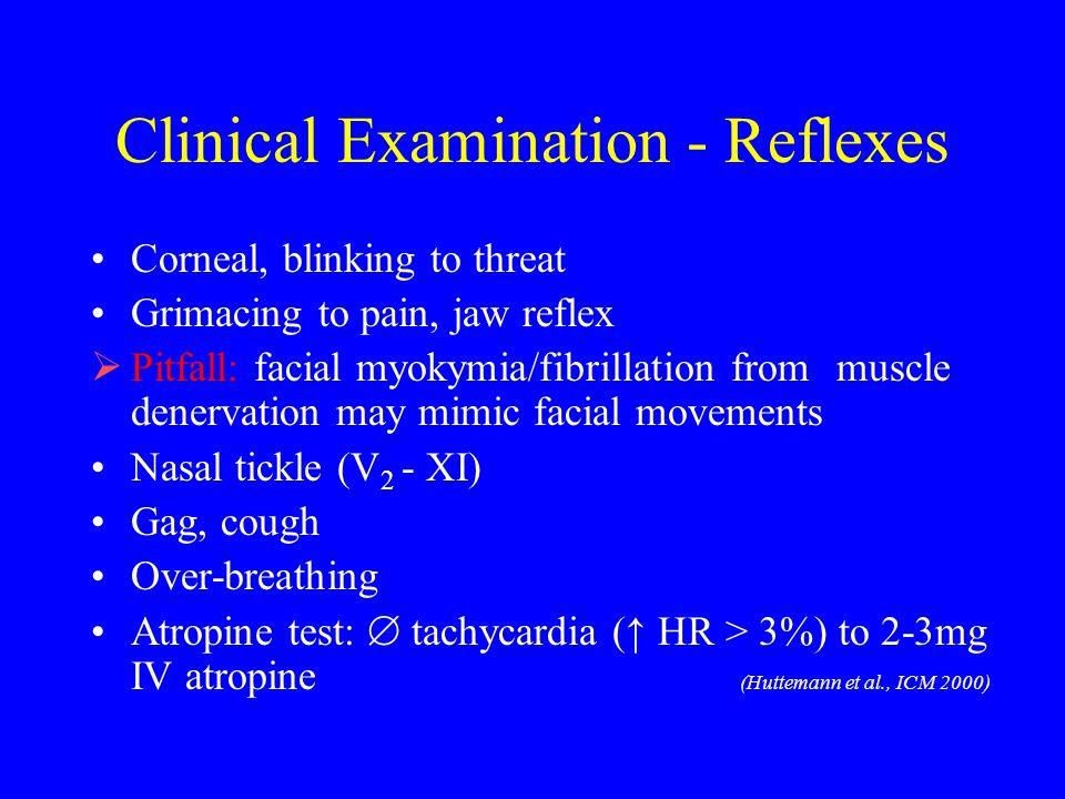 Clinical Examination - Reflexes