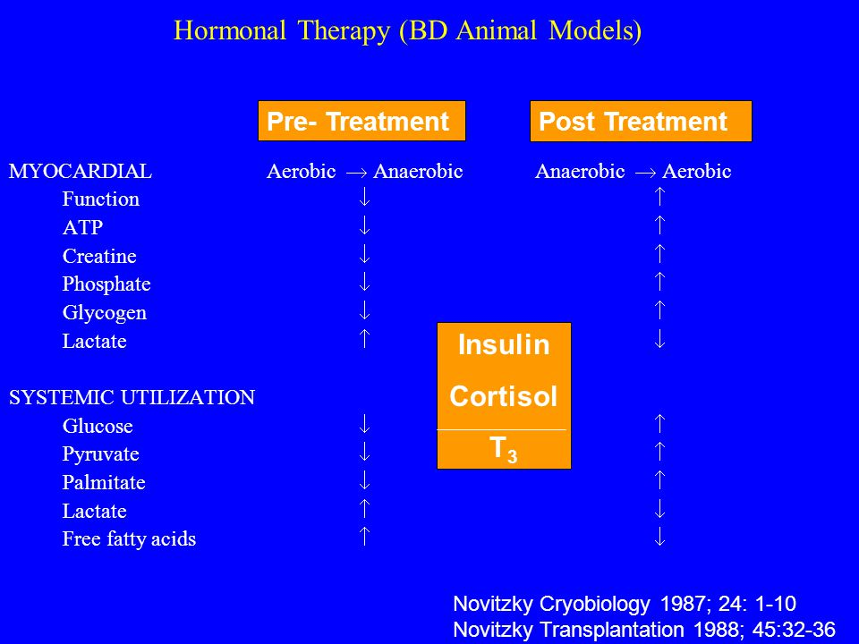 Hormonal Therapy (BD Animal Models)