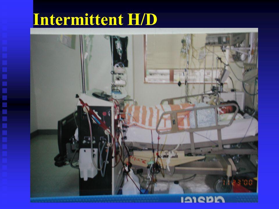 Intermittent H/D