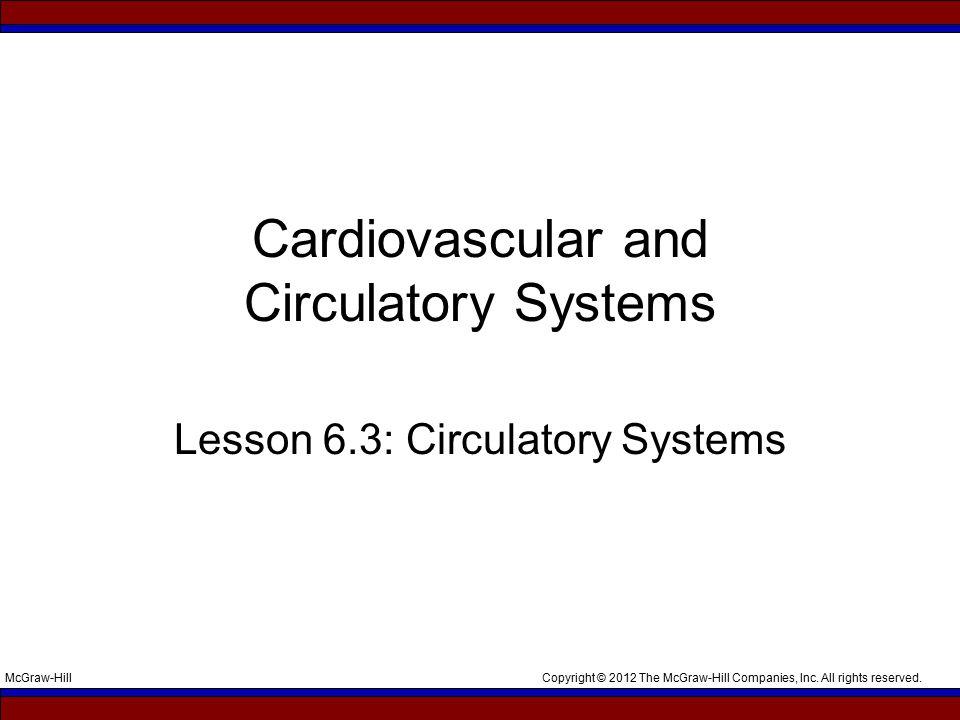 Cardiovascular and Circulatory Systems