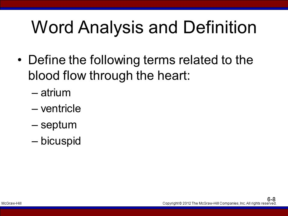 Word Analysis and Definition
