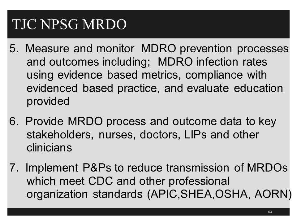 TJC NPSG MRDO