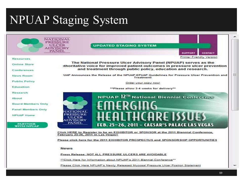 NPUAP Staging System