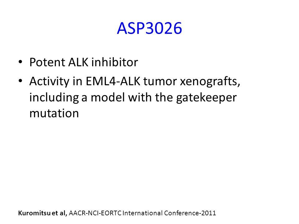 ASP3026 Potent ALK inhibitor