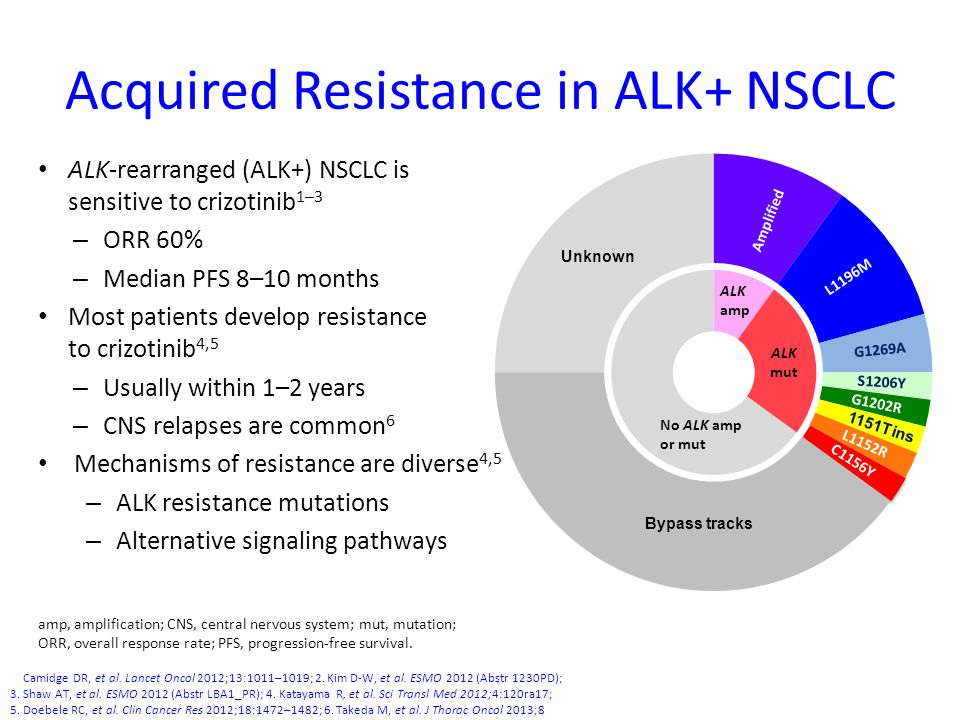 Acquired Resistance in ALK+ NSCLC