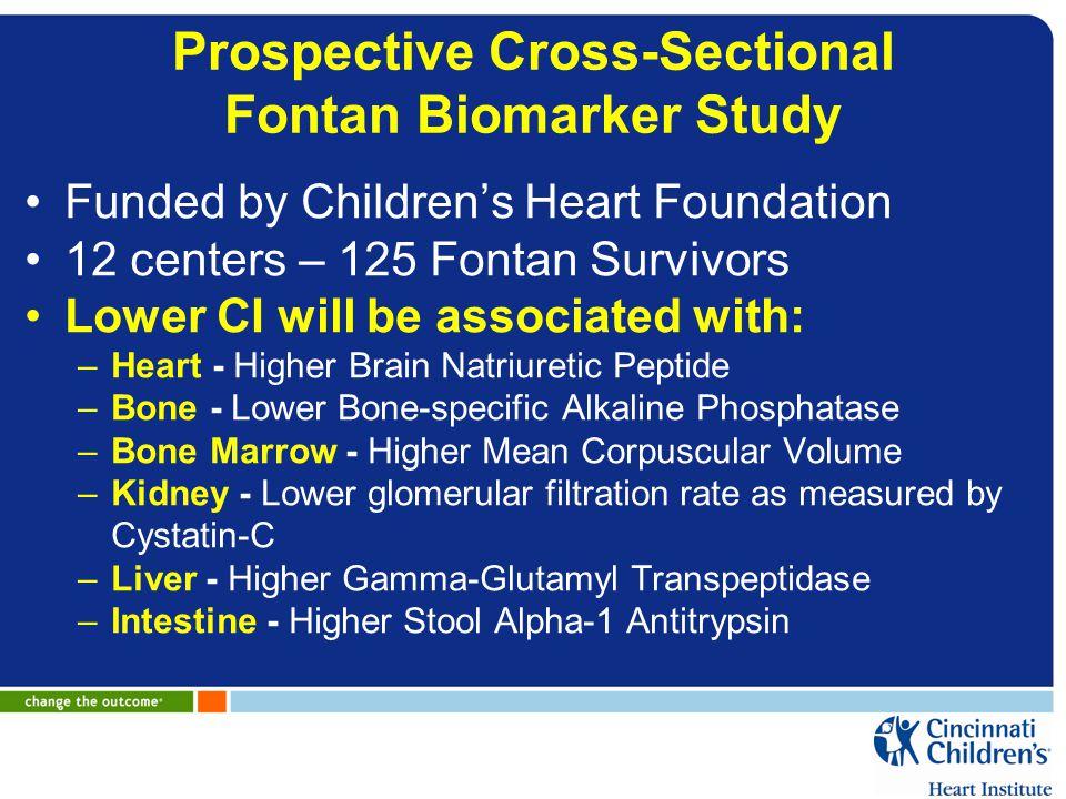 Prospective Cross-Sectional Fontan Biomarker Study