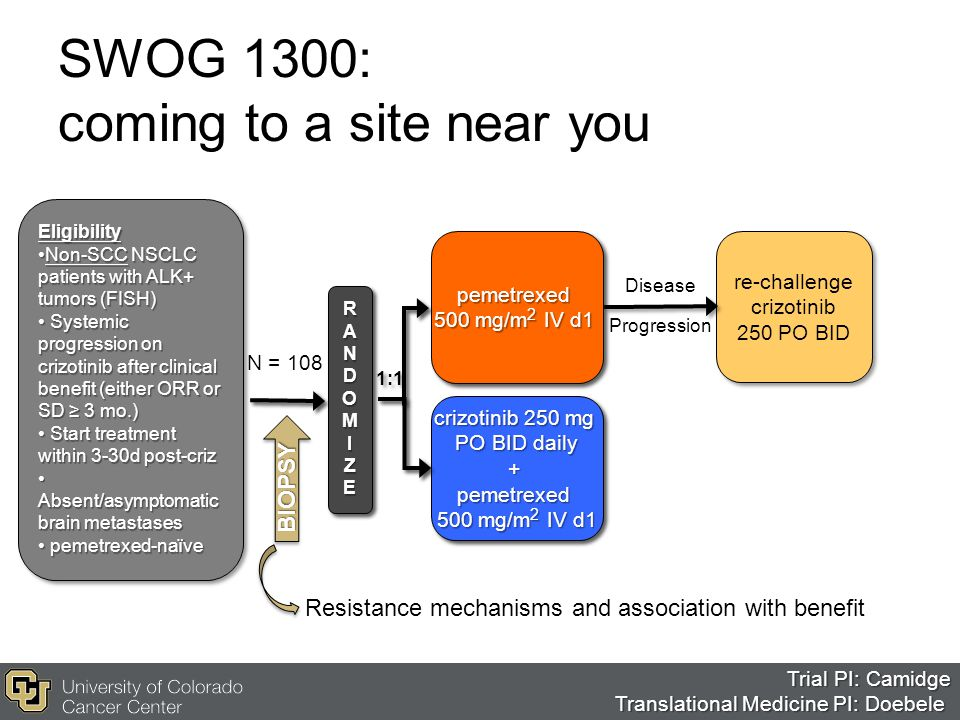 SWOG 1300: coming to a site near you