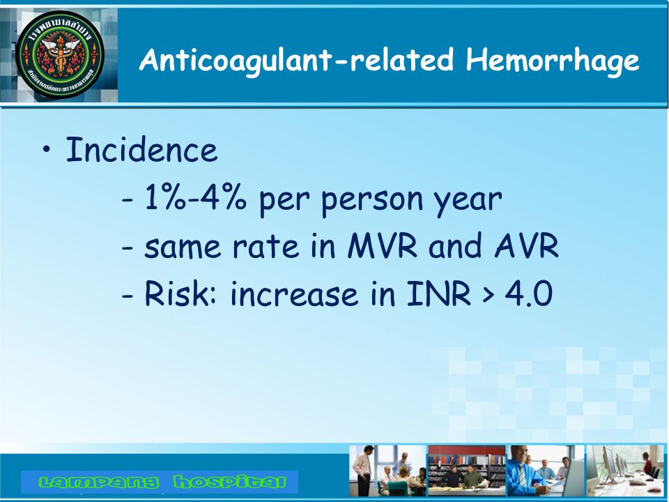 Anticoagulant-related Hemorrhage